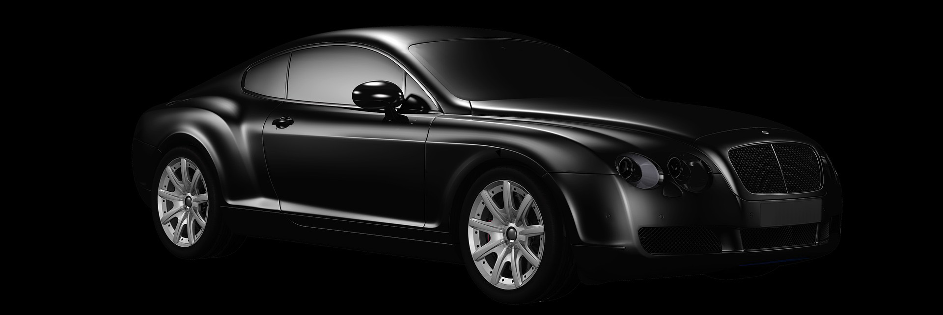 Slide voiture noire